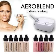 amazon com aeroblend airbrush makeup personal starter kit