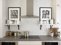 Kitchen Tile Backsplash Installation Subway Tile Backsplash Installation Dark Brown Varnished Wooden
