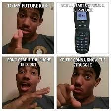 Flip Phone Meme - flip phone lol meme by akash2792 memedroid