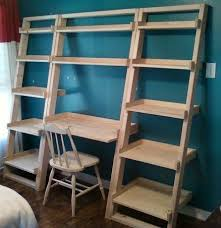 catchy diy leaning desk and best 25 ladder desk ideas only on home