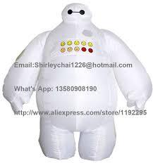 Blow Halloween Costume Halloween Inflatable Decorations Big Hero Baymax Party Cosplay