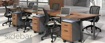 sidebar a new modular desk system for today u0027s workplace