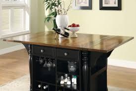21 black country kitchen kitchen island with wine storage black