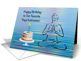 birthday cards for my yoga teachers from greeting card universe