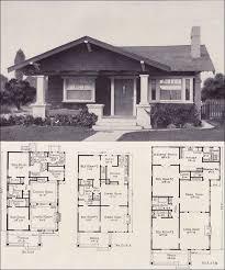 1920s floor plans 1920s bungalow forward gable cottage style plan no l 15 e w