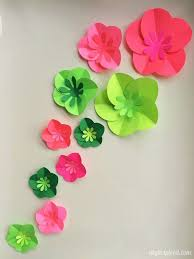 Easy Paper Craft For Kids - 12 step by step diy papers made flower craft ideas for kids diy