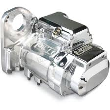 jims polished aluminum finish 6 speed overdrive transmission with