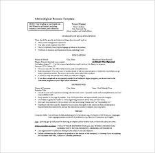 resume templates for word one page resume template 11 free word excel pdf format