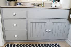 annie sloan chalk paint paris grey cabinets master bathroom makeover knot too shabby furnishings
