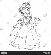 cute princess teen lush dress vector u0026 photo bigstock