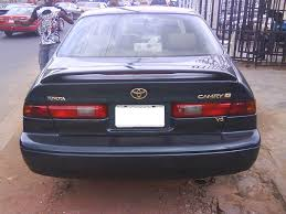 toyota camry uk 1999 2000 toyota camry forsale registered autos nigeria