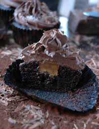 cupcake awesome chocolate caramel frosting recipe stuffed