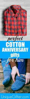 cotton anniversary gifts for him cotton 2nd anniversary gifts for him unique gifter