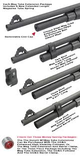 gg extensions benelli m1 magazine extension two and three gg g