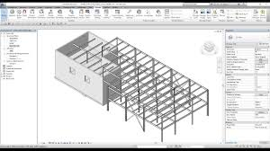 revit structure lesson 7 how to work with structural steel frames