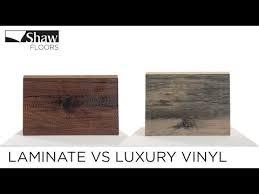 is vinyl flooring better than laminate laminate vs luxury vinyl