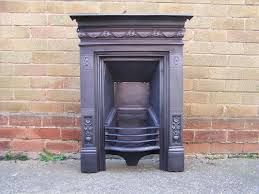 Victorian Cast Iron Bedroom Fireplace Pembroke Black Cast Iron Fireplace For Cast Fireplaces 24897