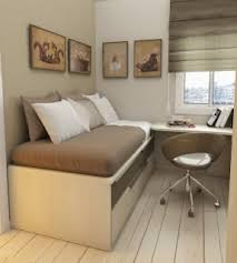bed with desk attached foter