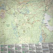 Oregon Map by Central Oregon Adventure Maps Bundle Bend Trails Gear