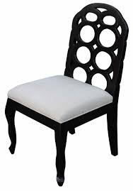 Black White Dining Chairs Dining Chairs Mortise Tenon