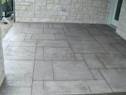 patio simple cement patio ideas simple concrete patio design