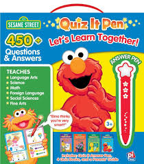 123 sesame street quiz it pen let u0027s learn together activity book