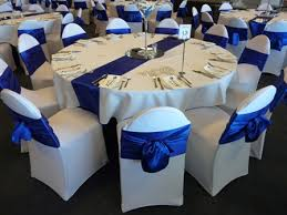blue chair sashes 10pcs royal blue wedding satin sash sashes banquet bows in sashes