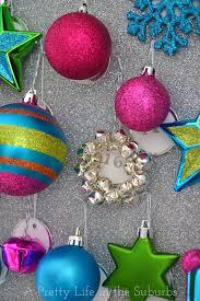 sparkly ornament advent calendar a pretty in the suburbs