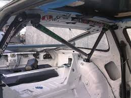 nissan 350z harness bar installing a safety21 180sx roll cage into an s13 hatch