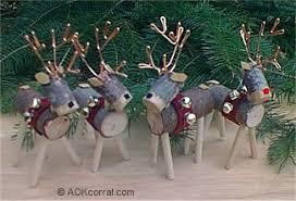 Christmas Garden Decorations Reindeer by 66 Rustic Christmas Crafts Reindeer Ornaments Ornament And