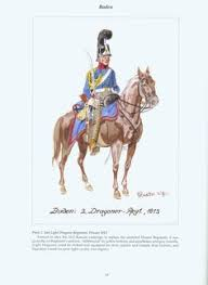 2nd Light Grand Duchy Of Baden Light Dragoon Regiment Colonel In Chief C