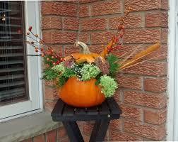 flower basket jack o lantern diy natural fall centerpiece u2013 urbanmoms
