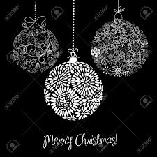 black and white ornaments royalty free cliparts vectors