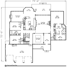 1 story house plans with basement 1800 sq ft house plans one story