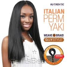 hair for crochet weave authentic synthetic hair crochet braids pre looped italian perm yaki