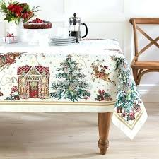 tablecloth for coffee table christmas tablecloths coffee table cloth twas the night before