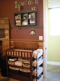 Nappy Organiser For Change Table Changing Station For Small Space Baby Nusery Pinterest