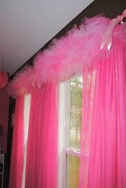 love this tulle window valance idea room ideas pinterest