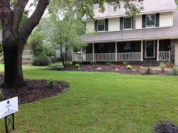 evergreens and perennials in residential landscape design