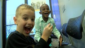 5 year old kentucky boy gets haircut just like his best friend to