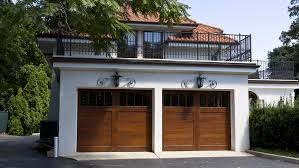 garage loft ideas flat roof garage 2 story garage pinterest flat roof and decking