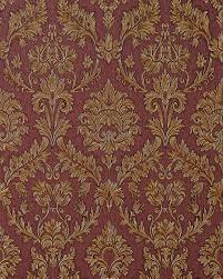 tapeten vintage trianon neo barock retro vinyl tapete 505368 rot gold tapeten
