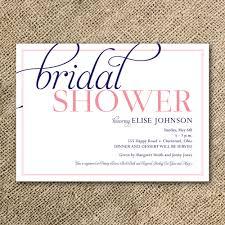 brunch invitation sle best bridal shower invitations dhavalthakur