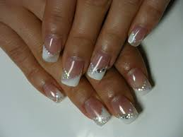 gel french manicure nail designs nails design also gel french