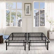 Steel Platform Bed Frame King Steel Platform Beds Frames Ebay