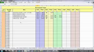 Restaurant Food Cost Spreadsheet Food Cost Spreadsheet Free Laobingkaisuo Com