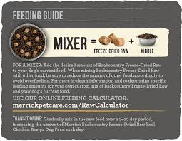 merrick backcountry freeze dried raw real chicken recipe grain