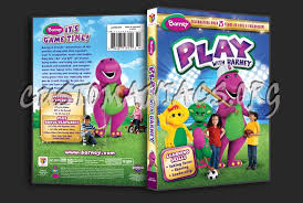 barney play barney dvd cover dvd covers u0026 labels