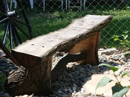 Antique Wooden Garden Benches For Sale by Make Your Own Rustic Log Bench Cabin Living Kool Ideas