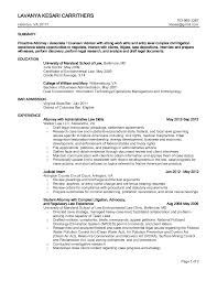 Sample Resume Lawyer by Insurance Defense Attorney Resume Free Resume Example And